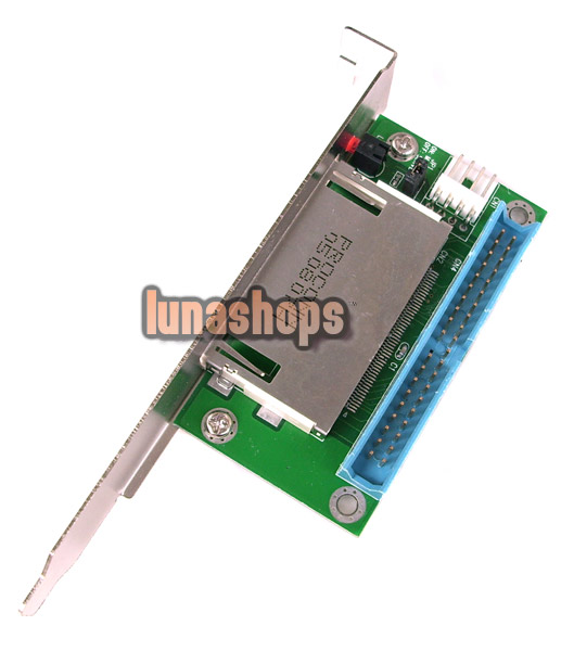 40 Pin IDE to CF Compact Flash Card Adapter Bootable Internal Memory Card Reader