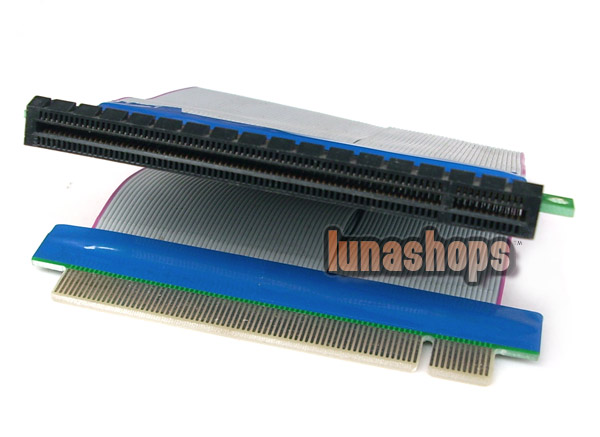 PCI-E PCIE to PCI-Express 16x Slot Riser Card Extender Expansion Cable For 1U/2U