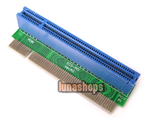 ST8001A Desktop PCI 32Bit Extender 90 Degree Right Riser Expansion Bus Slot Board Card Adapter