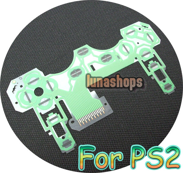 PS2 controller Button Ribbon Repair Keypad Flex Cable circuit board Part