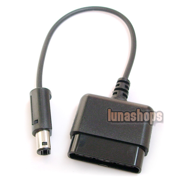 PS2 Controller Joypad NGC Wii Adapter Converter Cable
