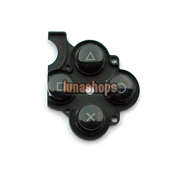 Right ABXY Button Conductive rubber pad PSP 3000