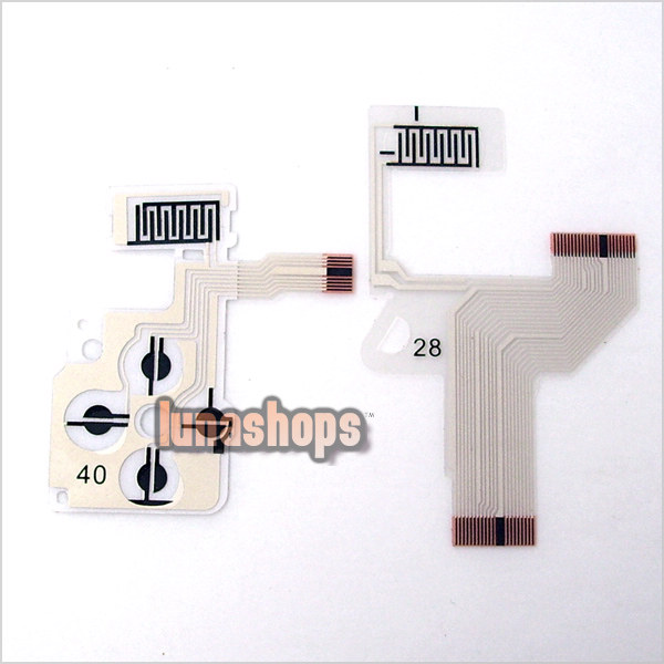 NEW Button Keypad Flex Ribbon Cable For SONY PSP1000Button