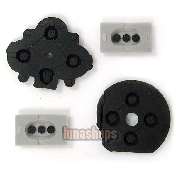 Replacement Conductive Rubber Pad Set for Sony PSP 1000
