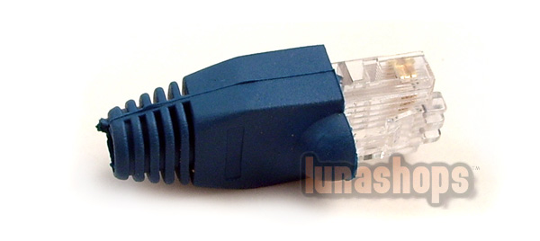 10 PCS Ethernet Cable CAT5 CAT6 RJ45 Connector Plug Protector Boot