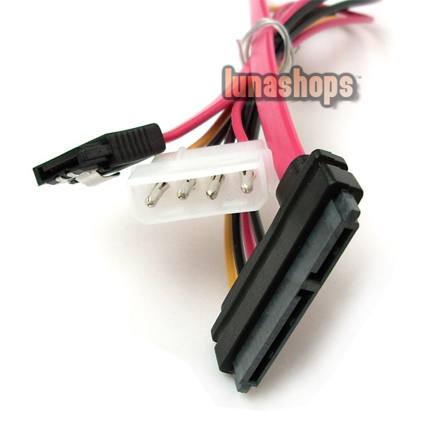50cm SAS 29Pin to SATA 7P Power Cable Connector 15 inch