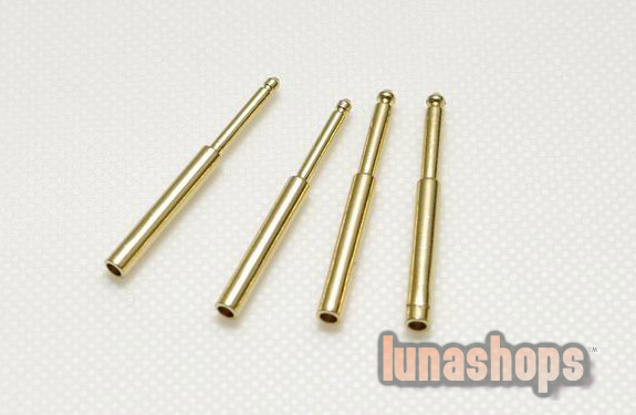 For DIY HandMade Hi-End Sennhneiser HD580 HD600 Headphone Earphone Upgrade Needle Pins