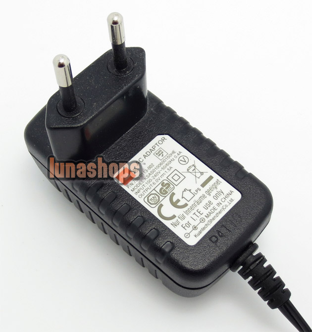 Power Charger Adapter For JBL On STAGE Micro AC 6V 1.5A