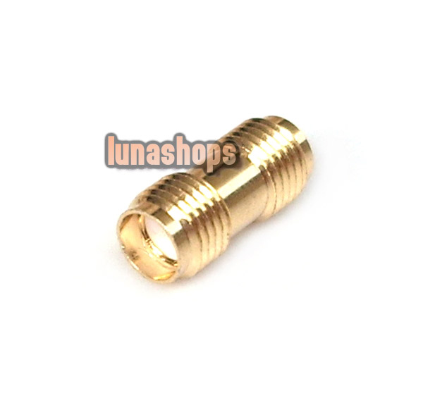 SMA Female To Female Straight Connector Adapter For Antenna etc.