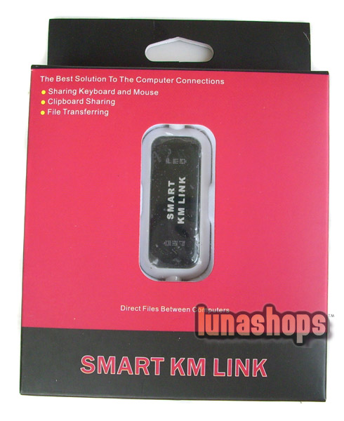 Smart KM Link For Share keyboard Mouse Clipboard Files Between Computers USB Male to Male Cable