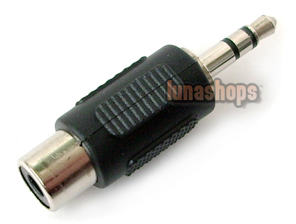 "3.5MM 1/8"" STEREO MALE TO RCA FEMALE AUDIO ADAPTER CONVERTER"