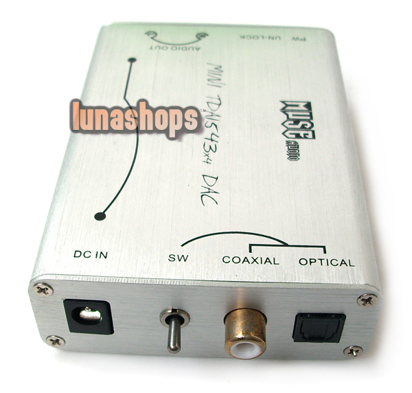tda1543x4 DIR9001+4X TDA1543 parallel connection NOS DAC Muse