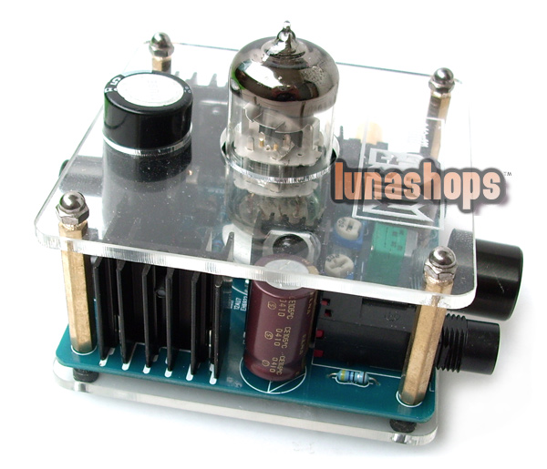 MUSE 6N11 Class A Hybrid Tube Headphone Amplifier