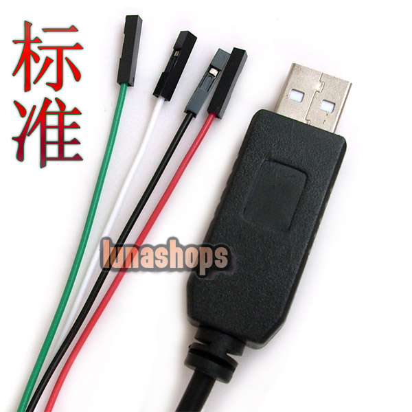 PL2303HX USB To TTL COM Module Converter Adapter Flash Professional Cable Standard