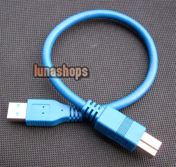 30cm USB 3.0 Type A/B male Super-speed cable for printer scanner modem digital camera