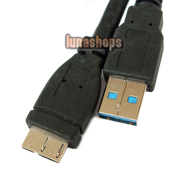 46cm USB 3.0 Male Type A to Micro B Plug Super-Speed Cable Adapter Converter
