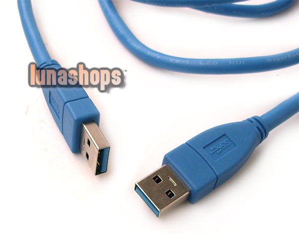 150cm USB 3.0 AM Male to Male Extension Cable
