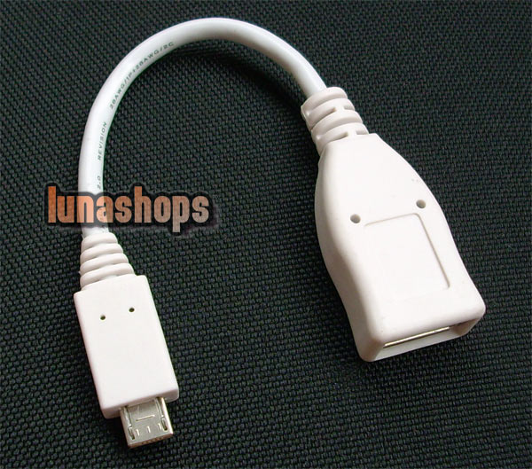 USB AF TO MIRCO USB OTG ca-157 Adapter Cable For Nokia N8 E7