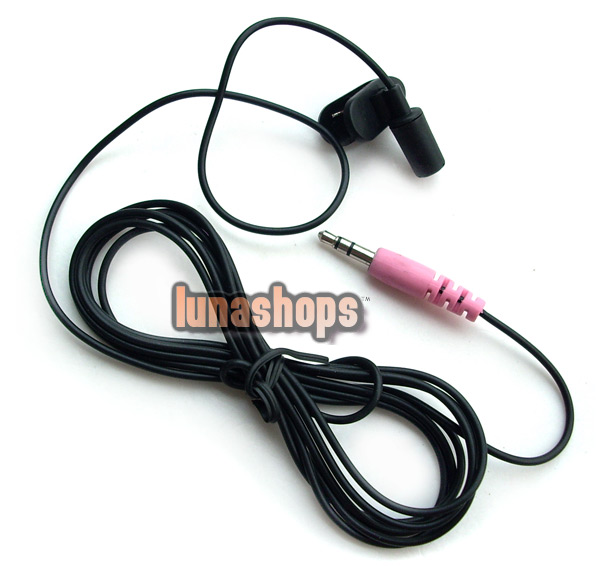 200cm Micro Mini 3.5mm Flexible Microphone For PC Laptop Skype MSN