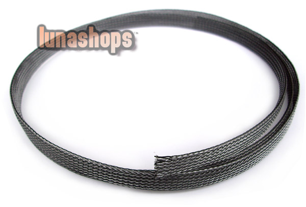 100cm H-04 Shock proof Shielding net tamper-proof Power Signal Cable For DIY 8-15mm