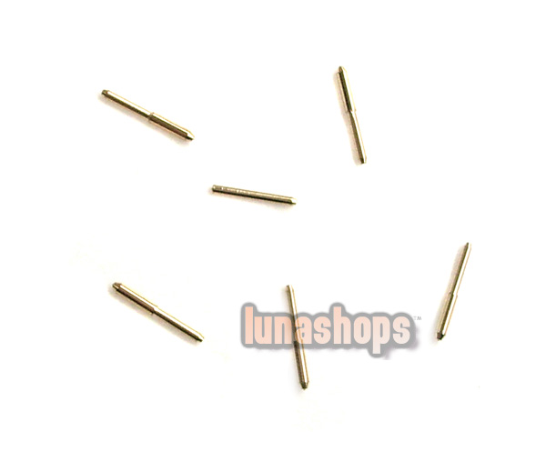 For 4 pcs 0.75mm Universal Earphone Upgrade Cable pins Plug For ultimate TF10 etc
