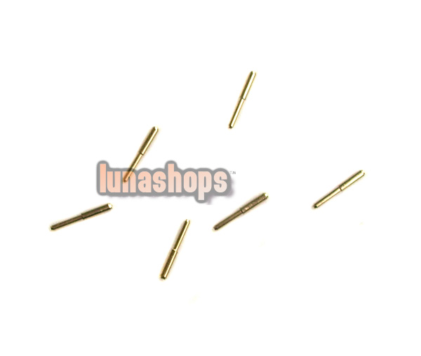 For 4 pcs 0.78mm Universal Earphone Upgrade Cable pins Plug For westone W4 etc.